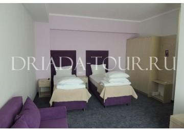 Family Room 4-х местный 2-комнатный | Отель «ФиоЛето»|Анапа, Пионерский проспект